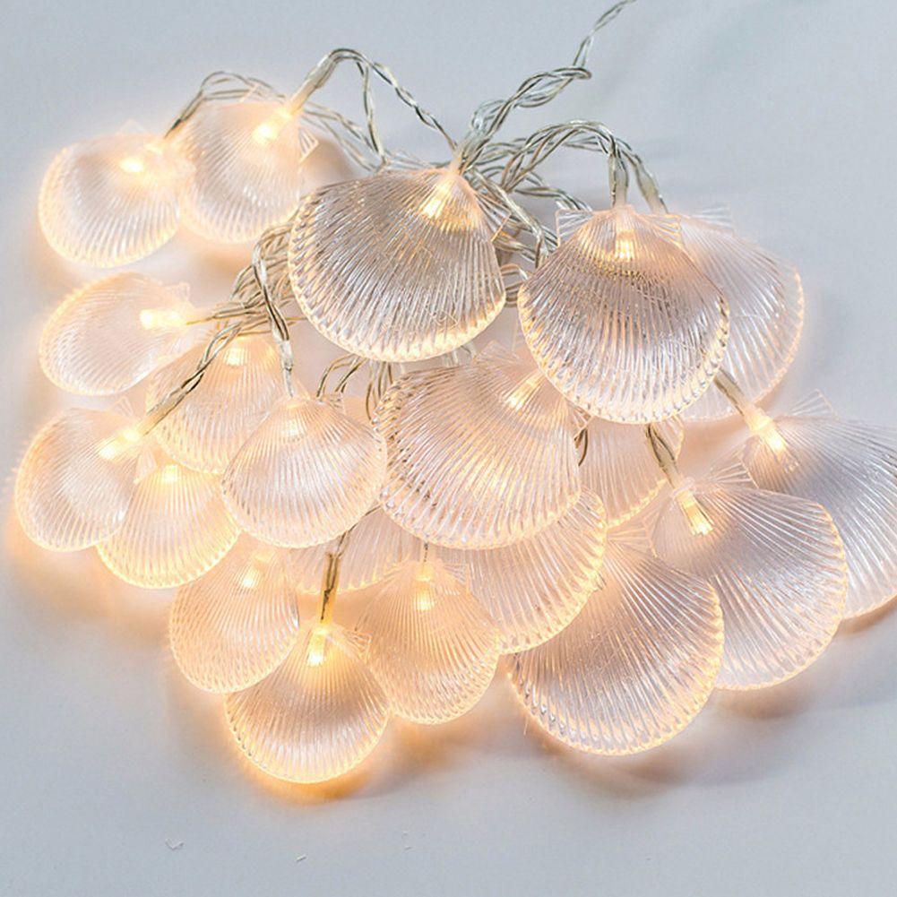 Ocean String String Decor, Impress Life Sea Shell / Capesante Beach Series per Outdoor, Estate, Stagionale, Addobbi per la casa