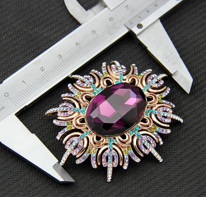 Flor De Plata Broche Prendedor Perla Cristal Rhinestone Diamante Boda nupcial abordar