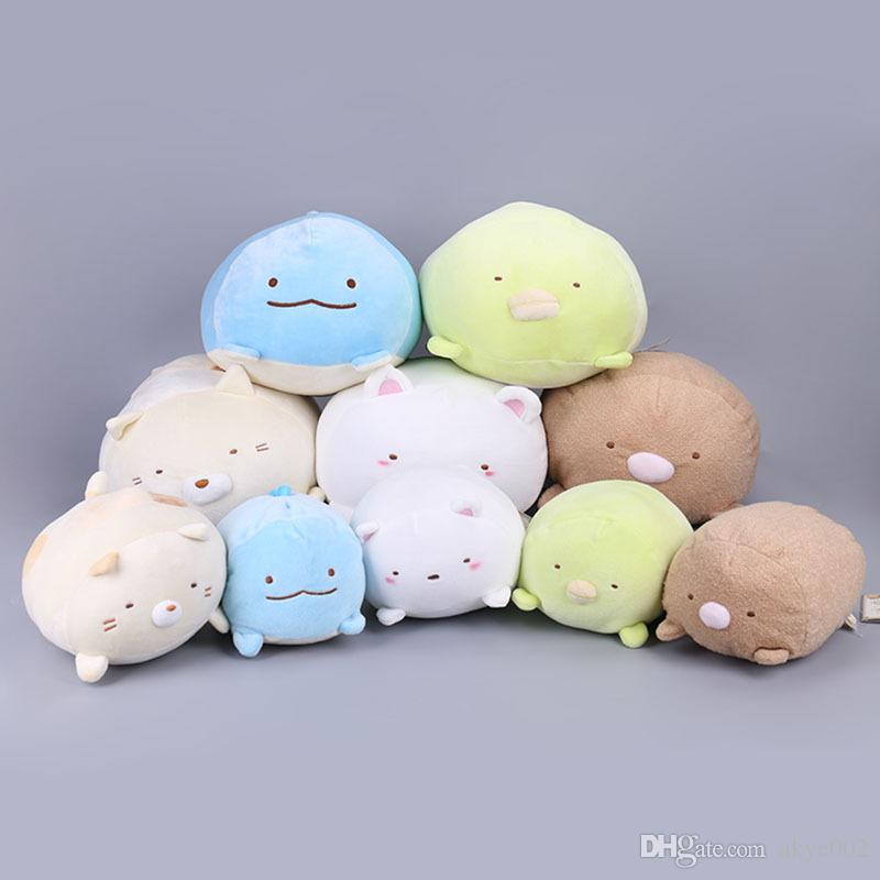 Hot Sale 5pcs/Lot 20cm/30cm San-X Plush Pillow Sumikko Gurashi Stuffed Animals Toy For Gifts