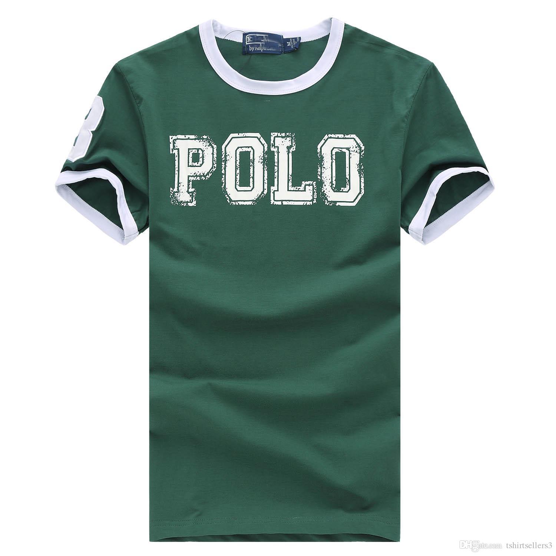 할인 된 고전적인 짧은 소매 여름 남성 폴로 셔츠 100 % 코튼