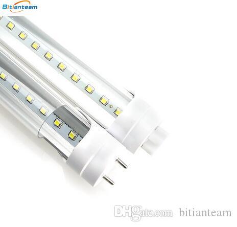 Led Tube Stock in US 4ft 1200mm T8 Led Tube Light High Super Bright 11W 18W 22W 28W Led Fluorescent Bulbs AC110-240V
