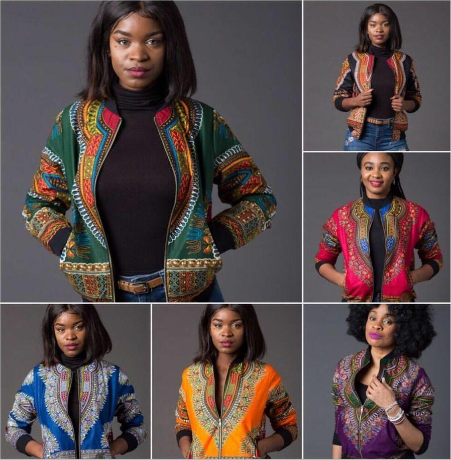 Африканские Дашики Платья Продажа Платья Новое Поступление Африка Базен Риш 2018 Сексуальная Национальная Дашики Мода Куртка Пальто Печати
