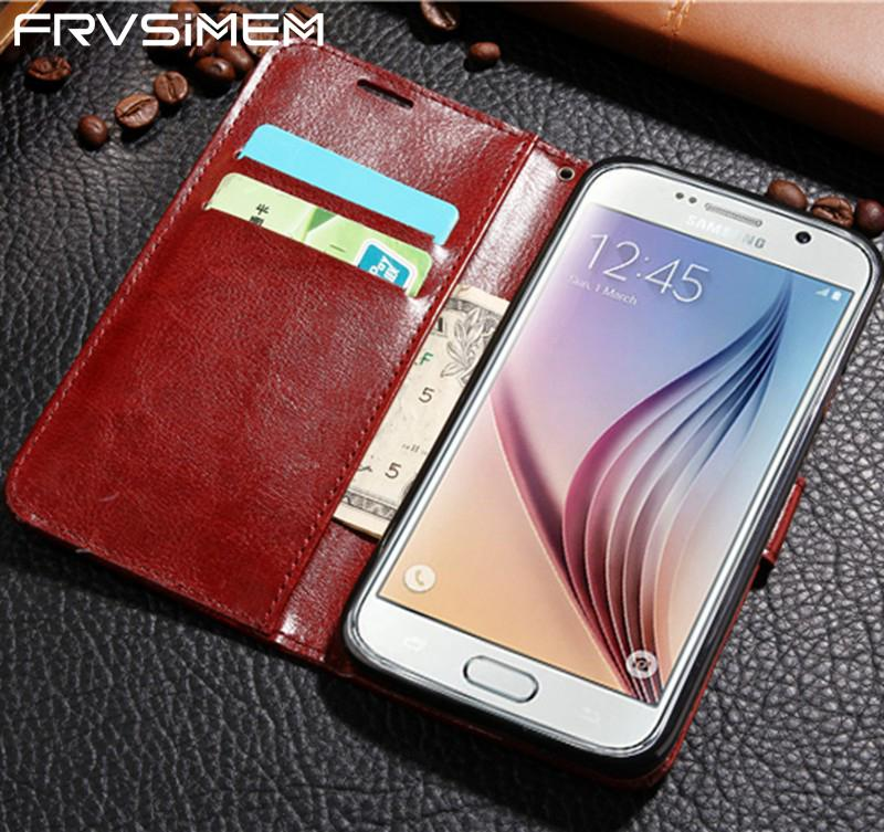 Flip Wallet Leather Case for Samsung Galaxy A6 2018 A3 A5 A7 2016 J3 J5 J7 2017 S3 S4 S5 S6 S7 edge S8 S9 Plus J2 Prime Cover