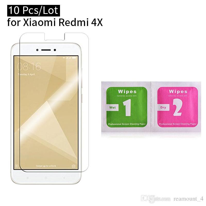 Toptan redmi 4x film için ön ekran koruyucu için xiaomi redmi 4x4 x patlamaya dayanıklı temperli cam