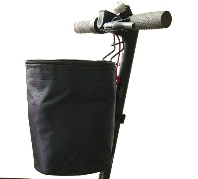 زينة أجزاء، EVA حامل حقيبة الجبهة + الهاتف + سلة + التعامل مع حقيبة 3wheel + الصمام الخفيفة + دواسة ملصقا + مرآة لmijia سكوتر ELETRIC