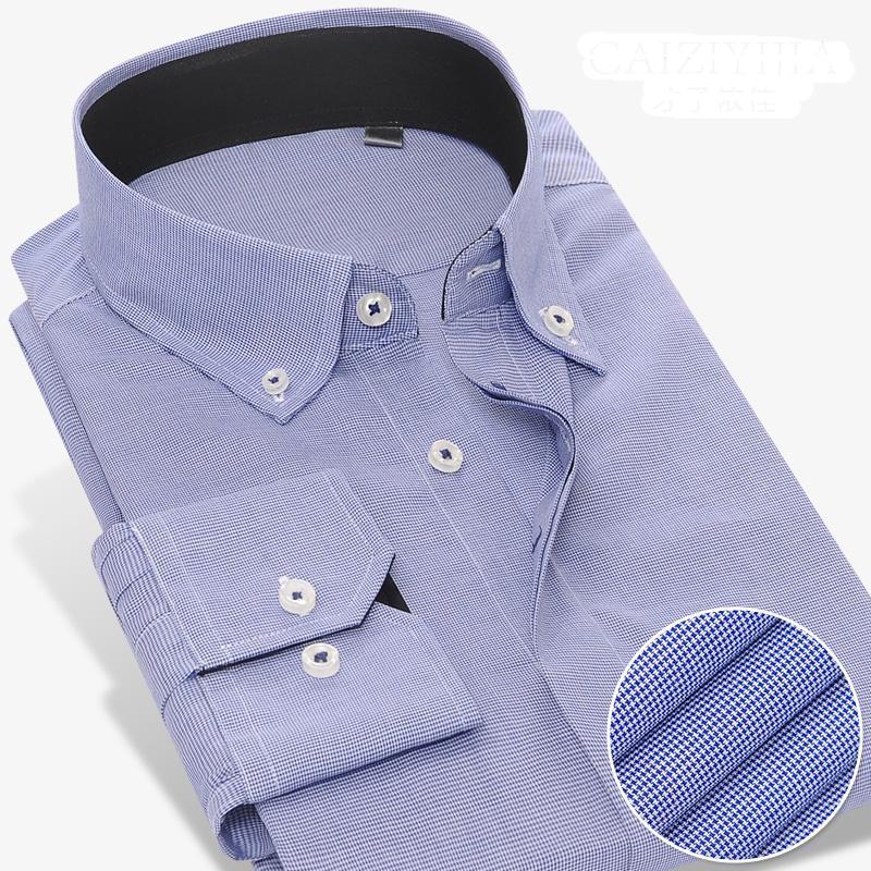 Vestido para hombre camisas Grevol 2021 Llegada Sólido manga larga formal negocio social 100% algodón Cuello cuadrado Hombres
