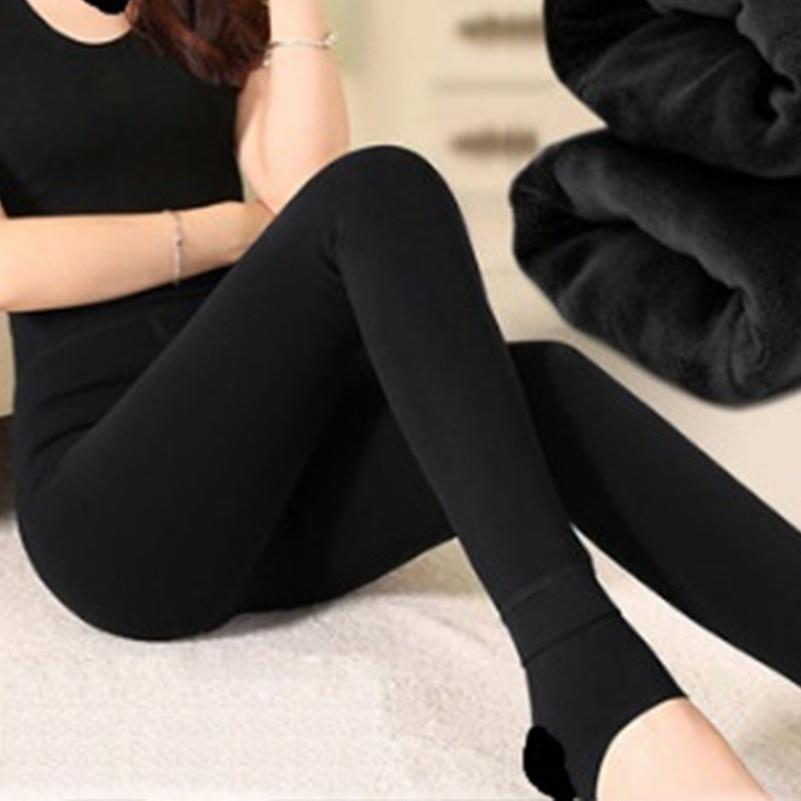أزياء الشتاء النساء اللباس الداخلي امتداد ضيق الملابس الداخلية الدافئة سليم سروال ارتفاع الخصر زائد اللباس المخملية سماكة