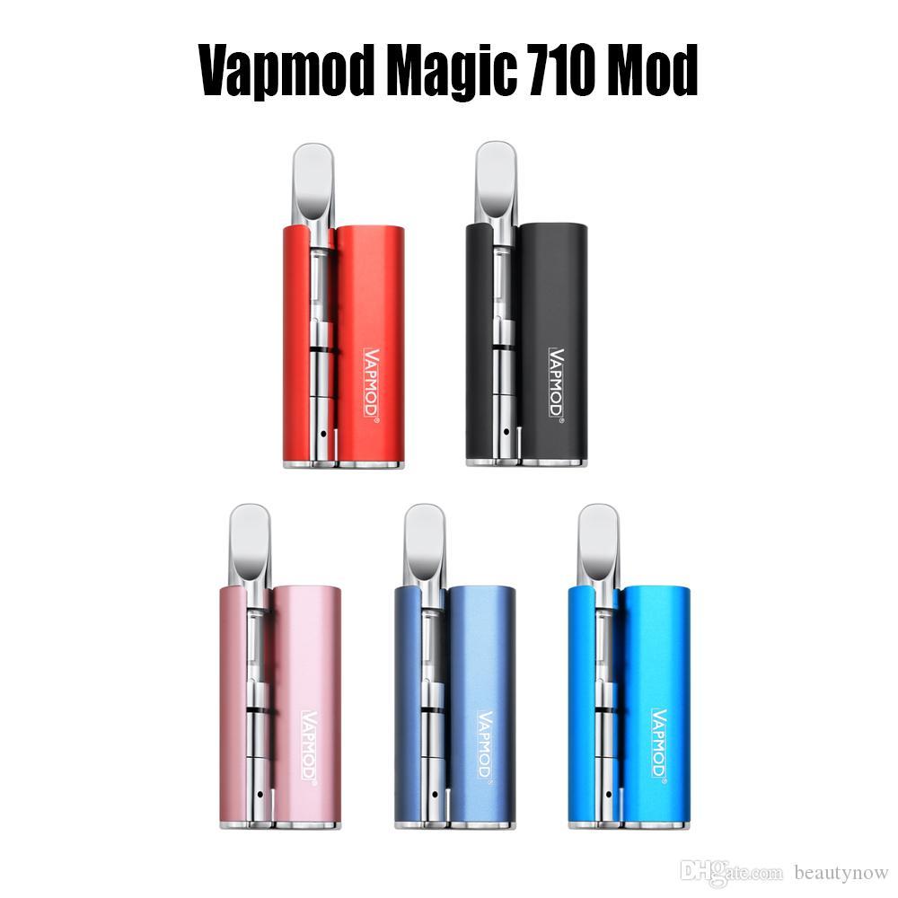Vapmod магия 710 мод 380 мАч разогреть аккумулятор Vape Pen Box Mod 510 резьба толстые масла керамическая катушка без XTank Pro картридж 100% оригинал