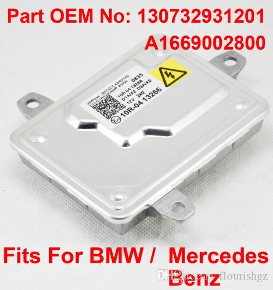 1PCS 12V 35W D1S D1R D3S D3R OEM HID Xenon Headlight Ballast Computer Control Unit Car Part Number 130732931201 A1669002800 Fits BMW Benz