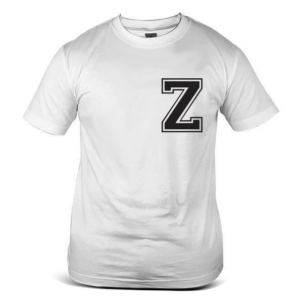 7132 Wh Z Alphabet Word Letter Font Slogan Vintage Coo White Mens Tee T Shirt Themed Shirts Latest T Shirts Design From Peng07 12 08 Dhgate Com