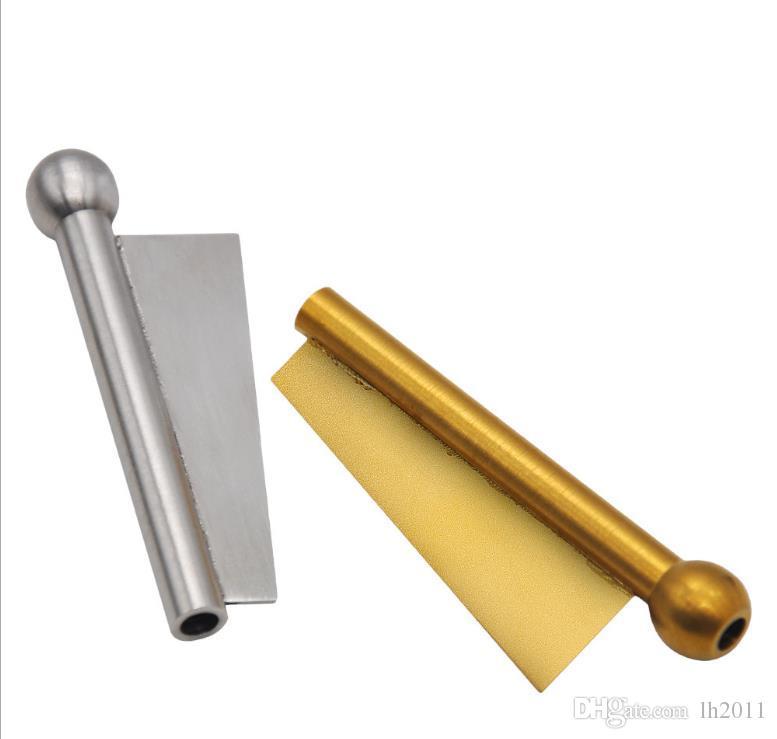 Metal Yeni Boru Amaç Çok Kafa Bar Snuff Boru Bullet Paslanmaz Çelik MGCQO