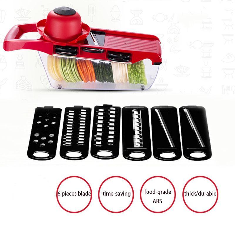 Multi Slicer Ajustável de Aço Inoxidável Lâmina Itens de Cozinha 1 Pcs Cozinha Kichen Acessórios