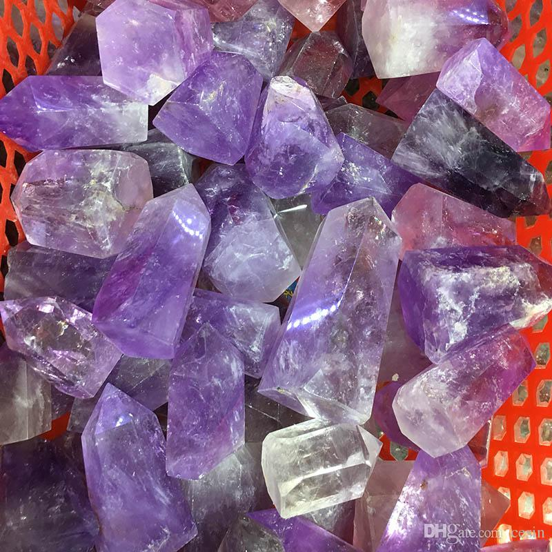 Information Card Included KALIFANO Cathedral Amethyst Point Bundle with Healing /& Calming Effects High Energy Reiki Bulk Gemstones Elestial Used for Stability and Peace