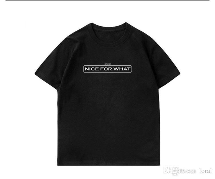 Erkek Giyim Güzel Ne Baskılı Casual Tees için Yaz Erkek Hip Hop Kısa Kollu Tasarımcı Tişörtleri Ücretsiz Nakliye