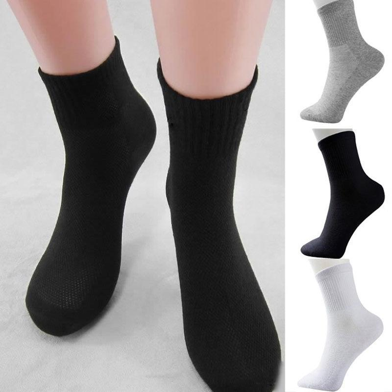 5 Pairs Men Women Coon Socks Winter Thermal Casual Soft Male Breathable Sock Cushion Bulk NEW Size 9.5-11