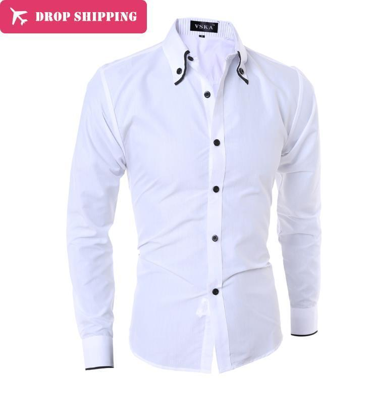 2019 Camisas Hombre Vestir Chemise Homme Hot Sale Long Sleeve Shirts Slim Fit Mens Dress And Asian Size M Xxxl Gx800 From Hongxigua 2231
