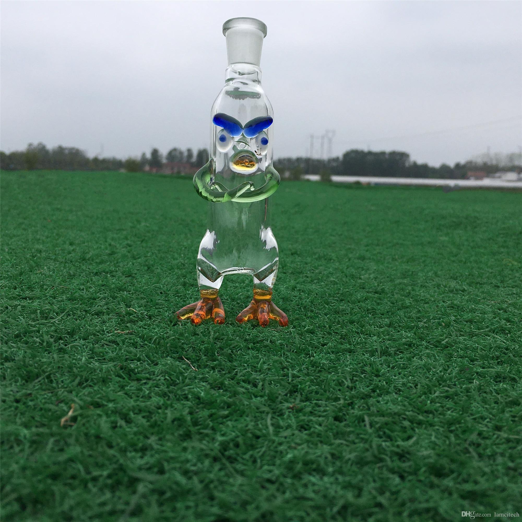 Hecho a mano 148 mm de altura tubo de tubo de vidrio de 14 mm tubo de filtro de agua conjunto hembra vidrio recto Bong pequeño tubo de fumar pipa de narguile