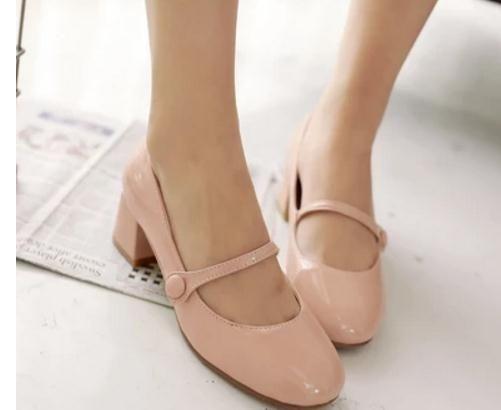 Бесплатно отправить горячие 2018 Летняя мода новый стиль Женская обувь квадратная голова грубый каблук