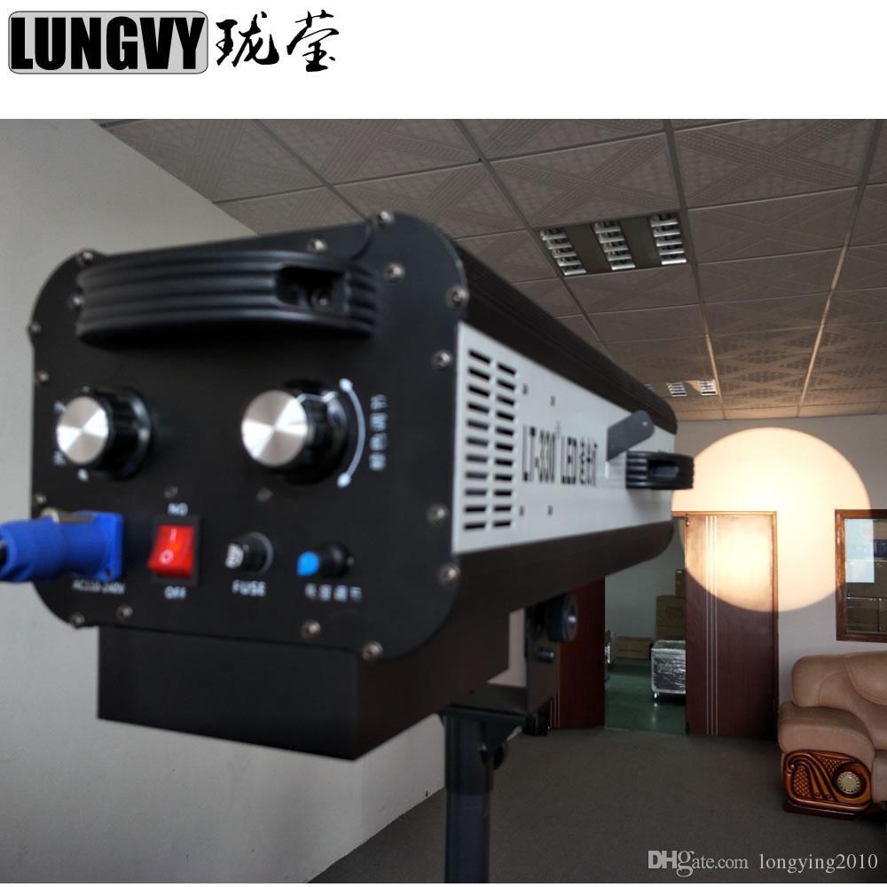 2 sztuk / partia 330W LED Postępuj zgodnie ze światłem dodatkowym z mocą 330W LED Postępuj zgodnie z oświetleniem etapu trackera na teatr weselny Pokaz