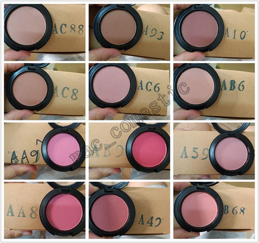 Vendita calda singolo colore blush trucco 24 colori disponibili SHEERTONE Blush 6g Fard A Joues Sheertone Blush ePacket spedizione gratuita foto reale