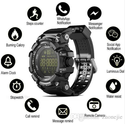 Bluetooth EX16 Smartwatch Watch Waterproof Relogios Smart Watch for IOS Wearable Devices Smart Watch Android PK Q18 DZ09