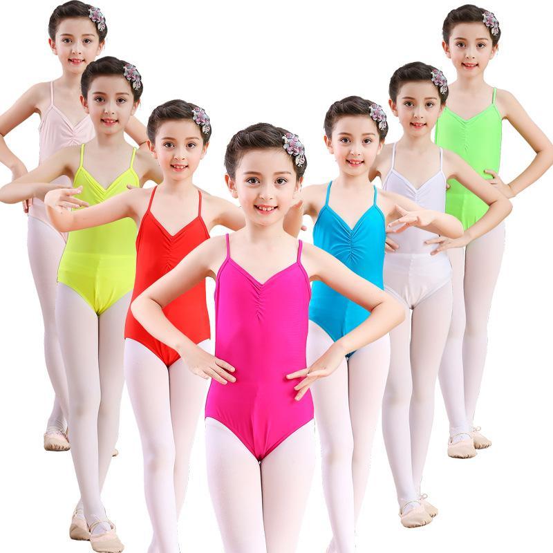 ballet leotard camisole nylon leotards for girls bodysuit dance toddler leotard