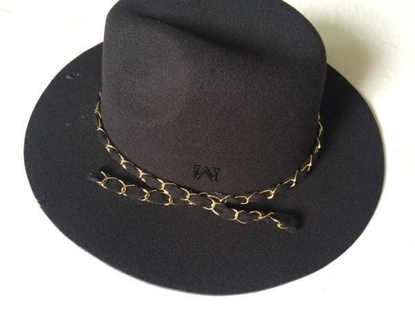 96085b90fc0600 Vintage Women Hard Felt Hat Wide Brim Fedora Trilby Panama Hat Flower  Gangster Cap