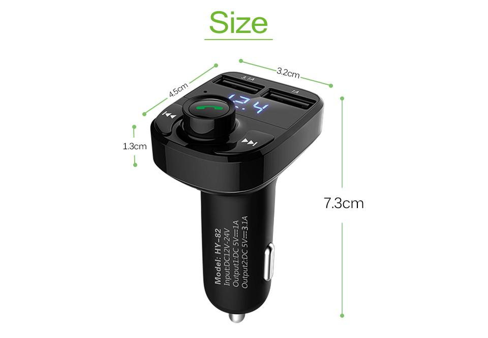 bluetooth car adapter aux 9