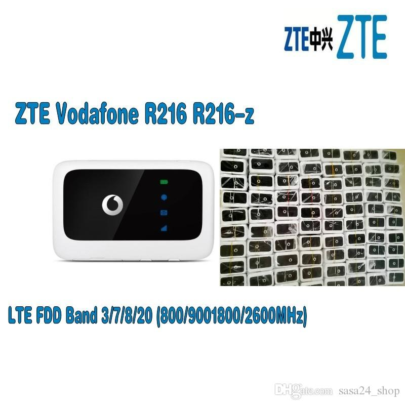 Unlocked New ZTE Vodafone R216 R216 Z With Antenna 4G LTE 150Mbps Mobile  WiFi Hotspot &4G Pocket WiFi Router 4G Wireless Router Cnc Router For Sale