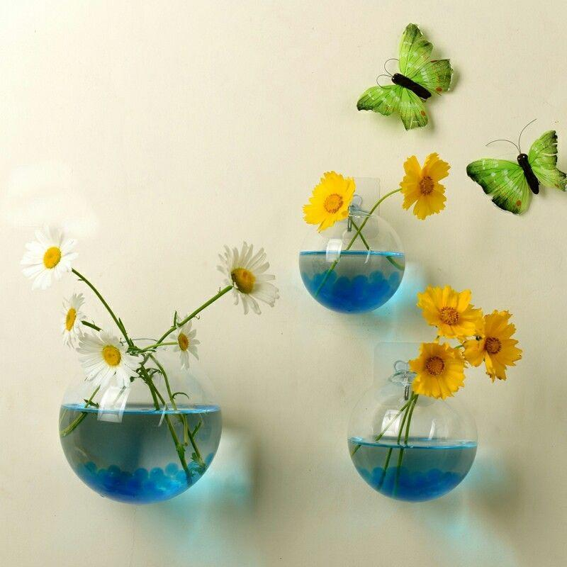 Decoração de vidro de suspensão da bola do jardim da casa do recipiente do Terrarium do vaso do plantador da flor