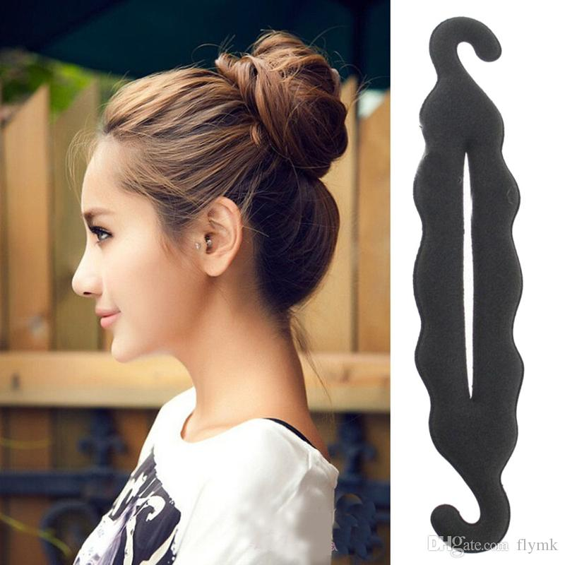 Newest Magic Hair Styling Twist Styling Bun Hairpins Hairdisk Meatball Head Rubber Clip Hair Accessories For Women Hair Braiding Tool