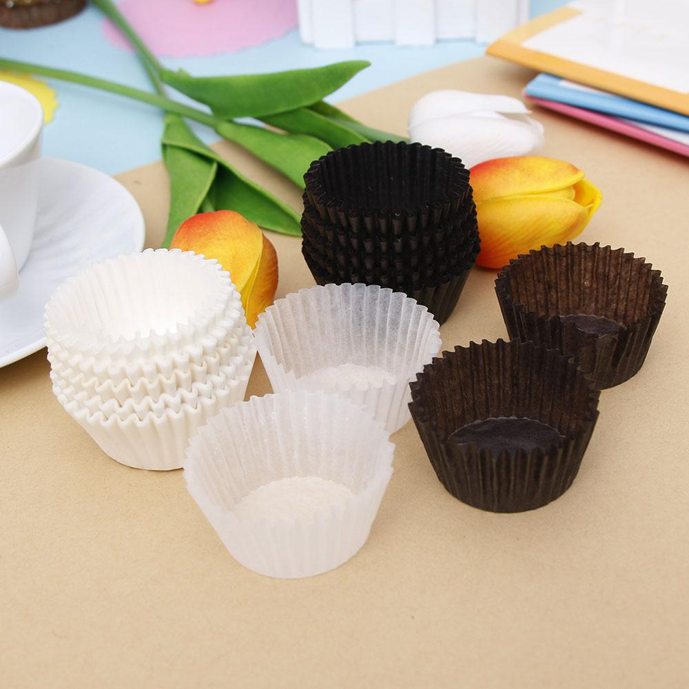 100pcs 3.5cm Small Mini cupcake liner baking cup paper muffin cases Cake Cup egg tarts tray cake mould Wrapper decorating tools
