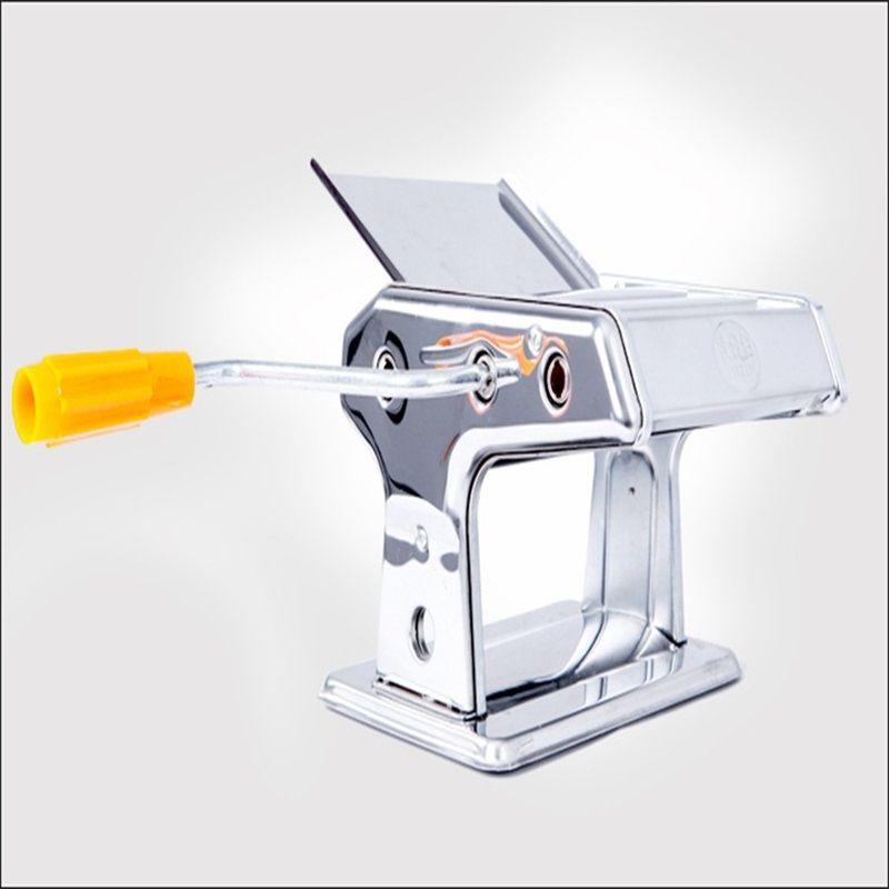 Pratical Manual Noodle Maker cortador de espagueti operado a mano Máquina de fabricación de pastas de acero inoxidable para el hogar Home Kitchen Tools 38qx ii