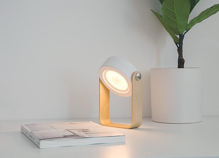 Kostenloser versand benutzerdefinierte design Clip Mini LED Licht Einstellbar LED Elektronische Weihnachtsgeschenk Lichter Klapp Leselampe Tischlampe Kind