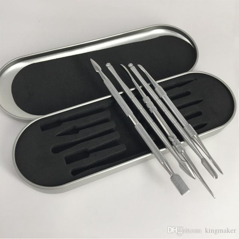 5 стиль инструмент из нержавеющей стали Vape Dabber инструмент воск испаритель Vape выбрать для сухой травы dab инструмент сковорода пара ручка комплект