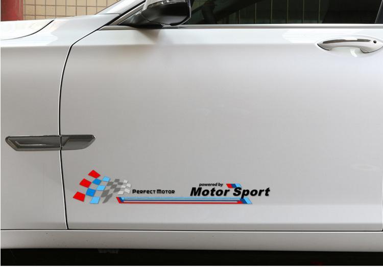 Adesivi per auto modificati per BMW Mini Cooper X1 X3 X5 X6 M3 M5 M adesivi personalizzati Adesivo riflettente