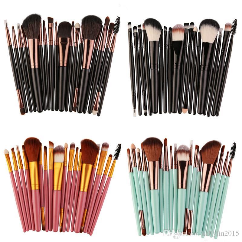 Makeup Brushes Set 18pcs MAANGE Professional Foundation Powder Blush Eyeshadow Brush Eyeliner Concealer Make up Brushes Kit Beauty Tools