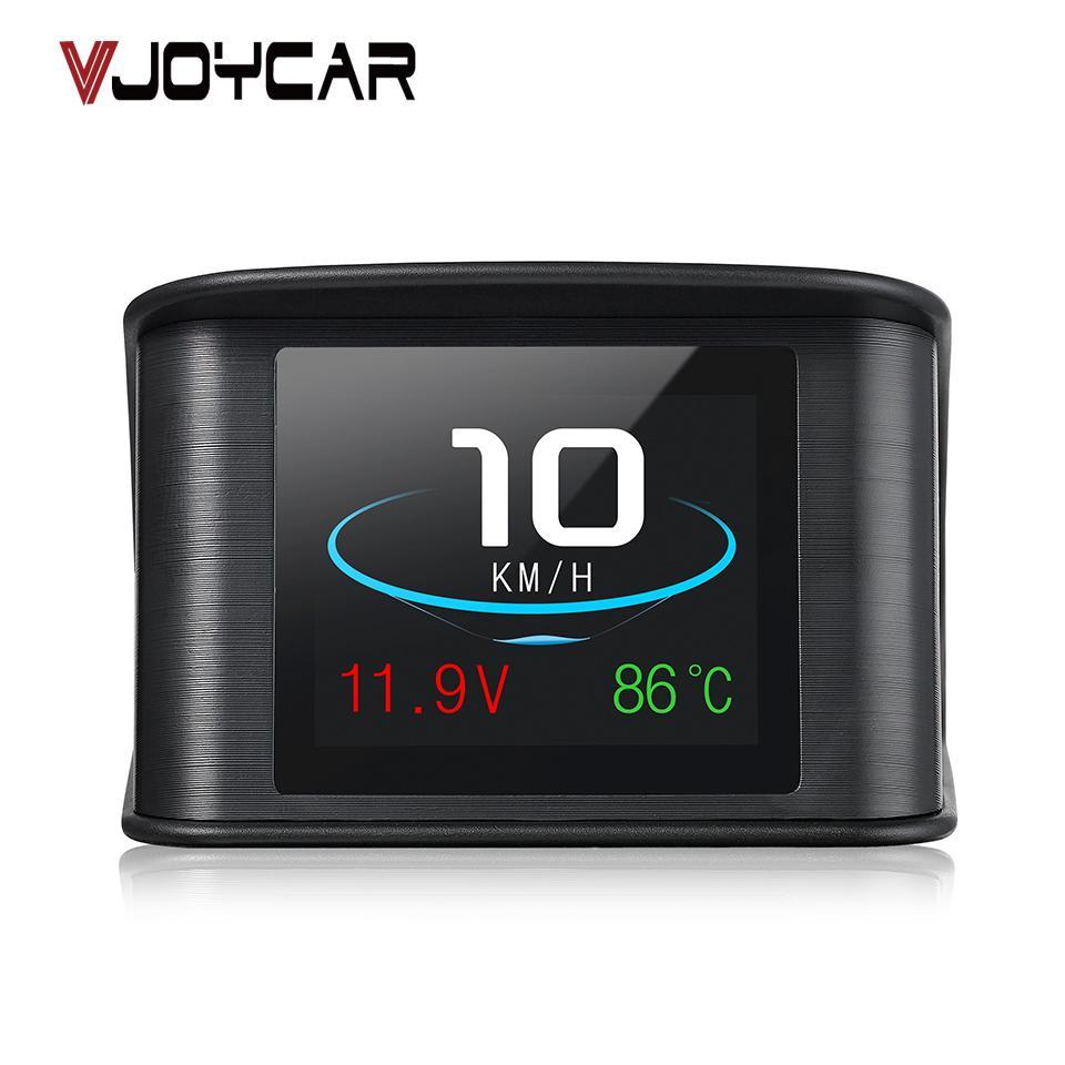 wholesale Hud GPS OBD Computer Car Speed Projector Digital Speedometer Display Fuel Consumption Temperature Gauge Diagnostic Tool
