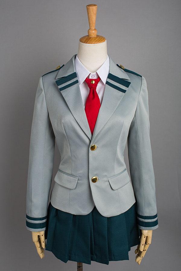 Cosplay Boku No Hero Academia My Hero Academia Ochako/Tsuyu Blazer Costume School Uniform