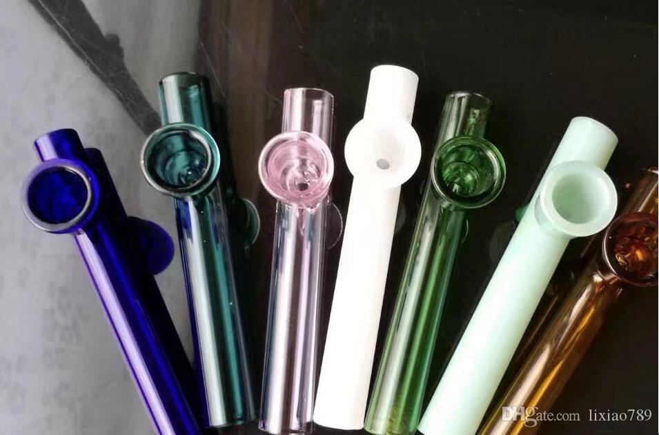 Chimenea del embudo del color de la alta calidad, vidrio al por mayor bongs Tubos de cristal de la hornilla de aceite Tubos de agua Tubos de cristal Plataformas de aceite que fuman envío libre mgh