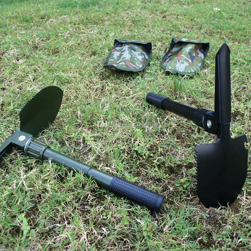 Folding Camping Shovel Survival Spade Trowel Garden Outdoor Tool for Camping Hiking Backpacking Fishing Garden Tools WX9-798