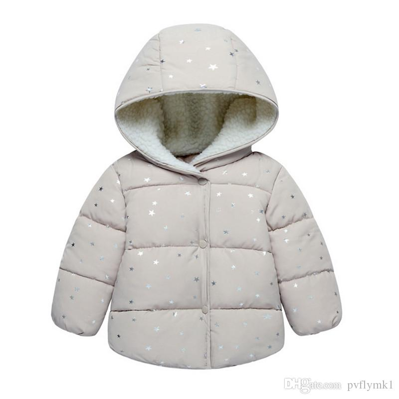 Male and female baby super Meng coral velvet hooded jacket infant hoodies three color options k1