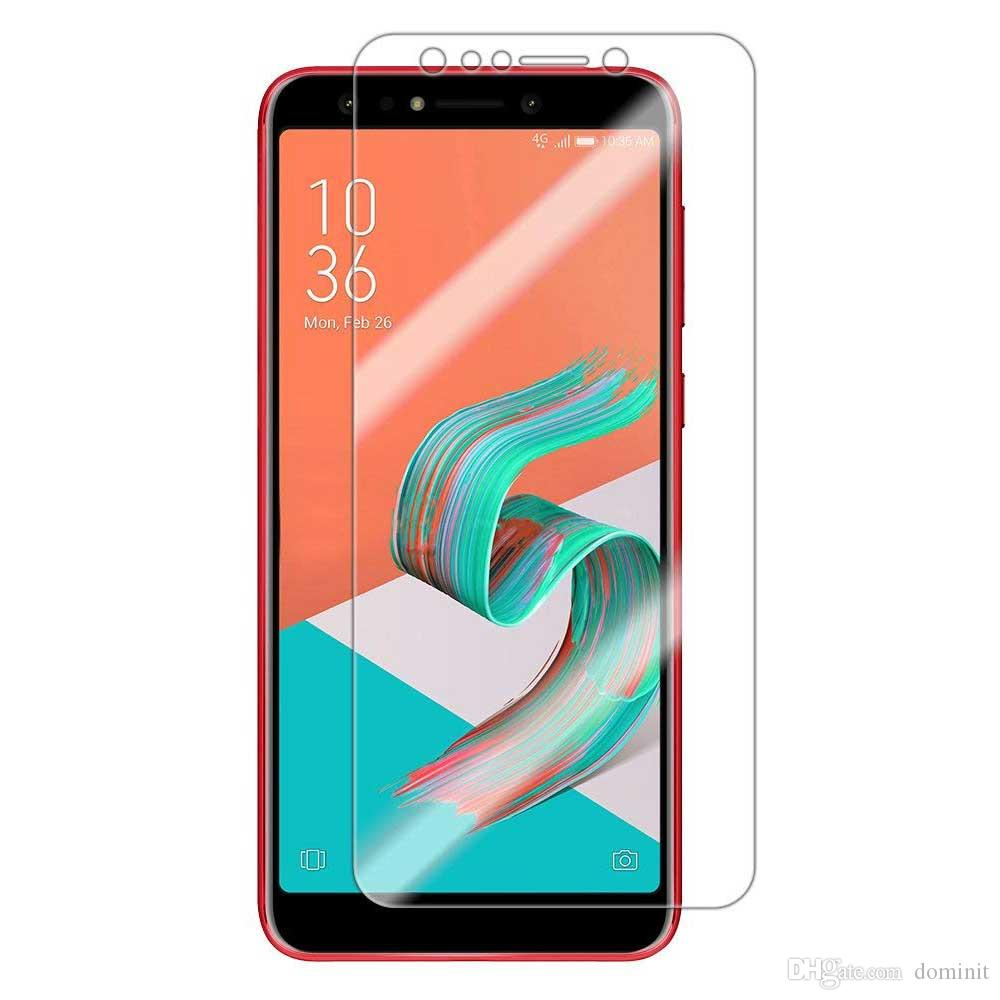 For Asus Zenfone 5Q Tempered Glass Screen Protectors Anti-Bubble Anti-Scratch Anti-Fingerprint Film For iPhone X XS XR XS