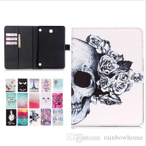 Black Eye non toccare My Pad Dreamcatcher Wind Chimes Effile Custodia in pelle PU per Samsung Tablet T230 T530 T550 T560 T350 T580