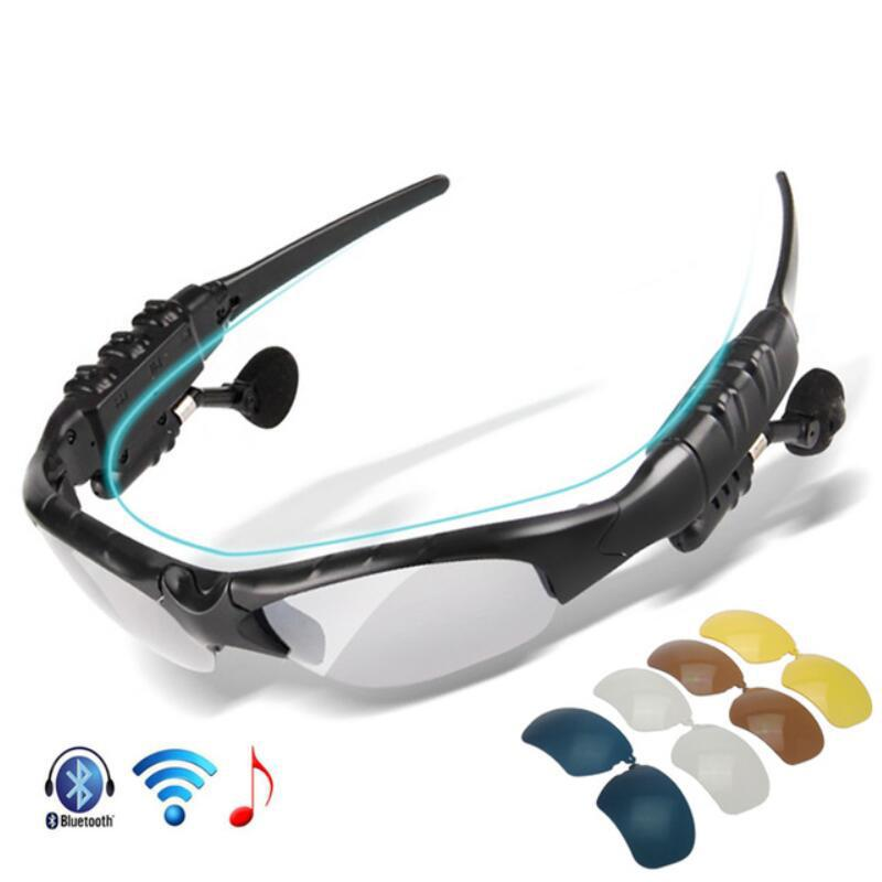 New Polarized Cycling Glasses Bluetooth Men Motorcycling