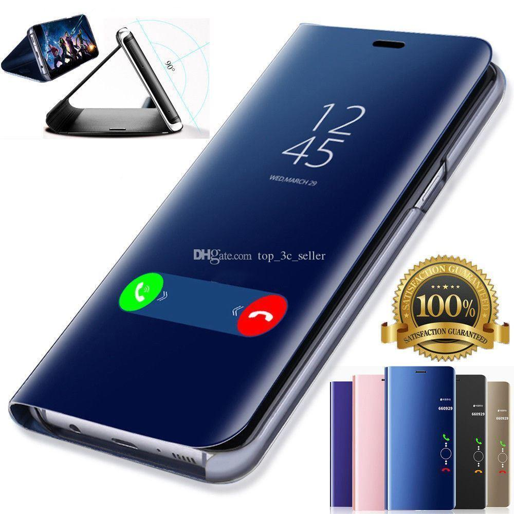 Custodia Rigida In Pelle Smartphone Con Display A Specchio Huawei P20 Pro Lite Plus P10 P9 Plus Da Top_3c_seller, 3,23 € | It.Dhgate.Com