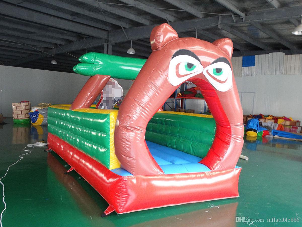 Trampolín inflable inflable y saltos de la casa moonwalk para niños envío gratis