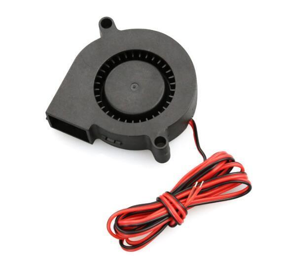 Ventola di raffreddamento per ventola industriale Ventola a turbina piccola DC 5015 per gli accessori della stampante 3D