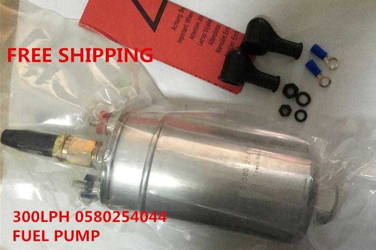 nuevo universal E85 de alta calidad 0580254044 300LPH bomba de combustible de alta presión de alto rendimiento de alto rendimiento 0580 254 044 bomba de combustible para carreras