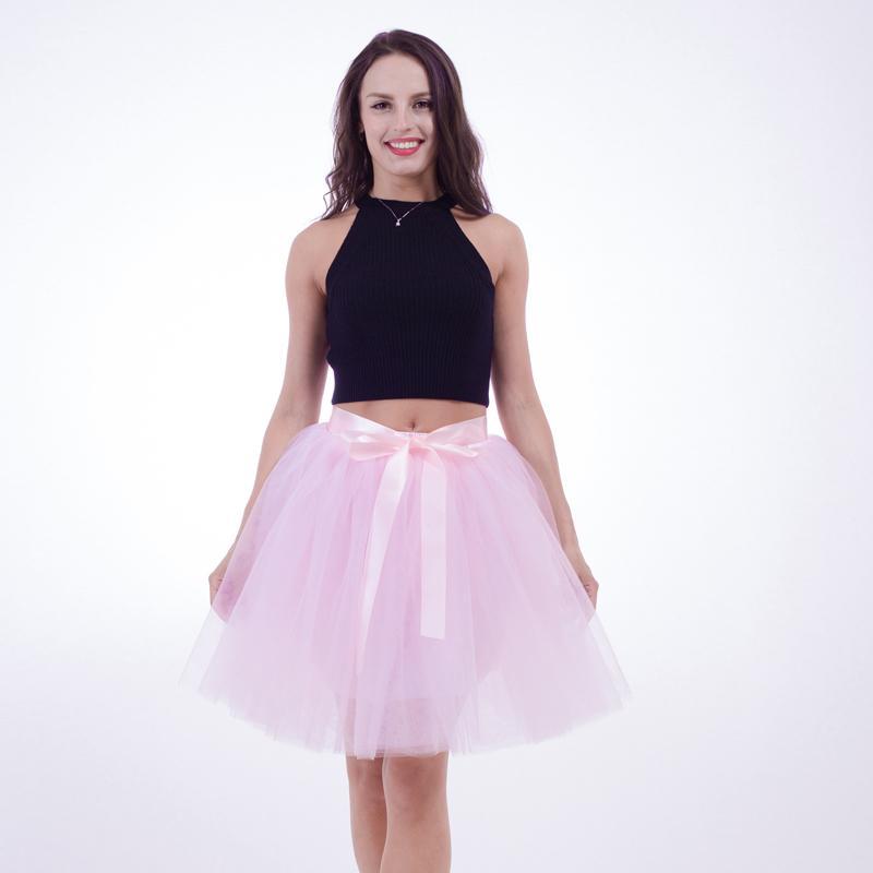 Балет танец платье костюм сетки пряжи пачка балетные танцы юбки женщин 7 с половиной пачка юбка взрослых производительность одежда DWY807